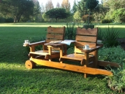 2 Seater Mobile Bench